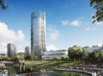 Bemutatták a látványterveket: Ilyen lesz Budapest első felhőkarcolója