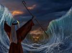 Séta a vízen: íme a holland híd, ami úgy választja szét a vizet, mint Mózes