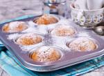 Fehércsokis muffin - Édes kényeztetés a havas estékre