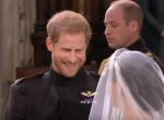 Emlékezetes pillanat: ezt mondta Harry herceg Meghannek az oltárnál
