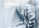 Elképesztő látvány: Befagyott a Niagara vízesés - Fotók
