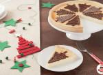Egy szelet karácsony - Nutellás sajttorta