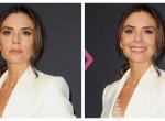Így nézne ki Victoria Beckham, ha mosolyogna a képein: Előtte-utána fotók