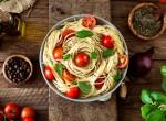 Szupergyors ebéd: Paradicsomos spagetti olívabogyóval