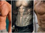 Kitalálod, melyik híres pasi félmeztelen teste van a fotón?
