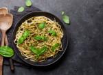 Pestós tészta vegán parmezánnal - Mennyei és gyors étel, nemcsak vegánoknak