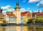 Még jelzőlámpája is van: Íme, a világ egyik legszűkebb utcája Prágában