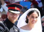 Fotókon Harry hercegék esküvője - Meghan meseszép menyasszony volt