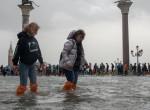 Elöntötte Velencét az árvíz, 10 éve nem volt ilyenre példa - Fotók