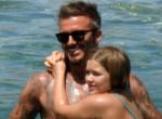 Kislányával posztolt David Beckham! Óriási balhé keveredett belőle