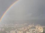 Gyönyörű videó került elő, ilyen szivárványt még sosem nem láttál