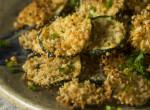 Fejedelmi, húsmentes finomságok: Rántott zöldséges és gyümölcsös falatok