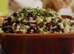 Pénztárcakímélő mexikói rizssaláta a hónap végére