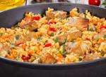 Egy olcsó fogás a hó végére – Villámgyors zöldséges, tejszínes-csirkés rizottó