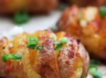 Grillezett krumpli, a sütőből
