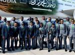 Leszállás közben gyulladt ki a szaúdi válogatott repülőgépe