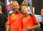 Apa és fia egy színpadon: Ilyen edzőnek tartja Schobert Norbit kisfia