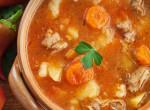 Így főzz vörös hússal: Laktató gombás sertésraguleves