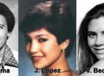 Rájuk se ismerni - Előkerültek a világsztárok évkönyv fotói