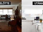 Előtte-utána fotók: ódivatú lakásból fényűző otthont varázsoltak