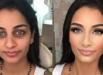 Fotókon a bizonyíték: Teljesen átformálja az arcunkat a smink