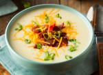 Pirított sonkakockás leves: Egy olcsó, forró első fogás a borús napokra