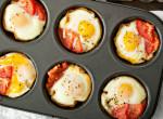 Gyors sült sonkás-tojásos muffin reggelire – hogy jól induljon a hétvége