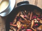 Különlegesség a hideg napokra: Forró sült gyümölcsös desszert