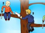 Te tudod, melyik ember esik le először a fáról? Választásod jellemez