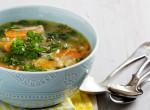 Tárkonyos csirkeleves: Szombati ebédhez tökéletes