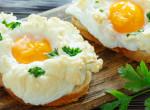 Itt a legújabb reggeliőrület: tojásfelhő! Megmutatjuk, hogy készül – videó