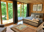 Luxuspihenés az erdőben - avagy tökéletes kikapcsolódás egy lombházban