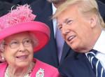Erzsébet királynő olyat tett Donald Trump menyével, amire még nem volt példa