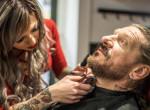 Neurobiológusnak készült, ma a szakállak szerelmese - Vida Fruzsi, a sztárborbély