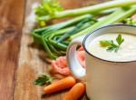 Fokhagymás zellerkrémleves - Könnyű méregtelenítés