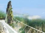 Tériszonyosoknak tilos: Erre a hídra még ránézni is félelmetes!