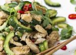 Ázsiai uborkás csirkesaláta - Gyors, könnyű és igazán nyárias fogás a lusta napokra