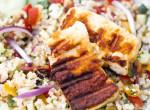 A libanoni konyha szerelmesei odáig lesznek ezért a nyári finomságért: bulgur tabbouleh grillsajttal