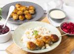 Jobb, mint amit az Ikeában kapsz: svéd húsgolyó zelleres-diós pirított rizzsel