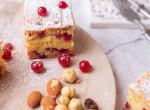 Mandulás-mogyorós ribizlis süti: ezt muszáj elkészítened a családnak!