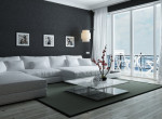 Így használd a feketét a lakásban - elegánsabb, mint a fehér