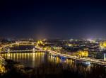 A világűrből fotózták le az éjszakai Budapestet - eláll a lélegzeted a képtől