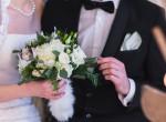 Akkora eső esett, hogy egy fazékban úszott saját esküvőjére az ifjú pár - Videó