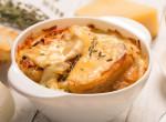Mondj búcsút az őszi megfázásnak - Így készíts igazi francia hagymalevest