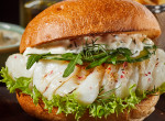 Böjti finomság: halburger és grapefruit relish