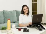 Home office-ban is stílusosan - Így dolgozik otthonról a népszerű műsorvezető