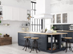 Hangsúly az elegancián - fotókon a legjelentősebb aktuális konyha trendek