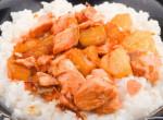 Vitamindús, egyszerű és finom – gyümölcsös csirkecsíkok