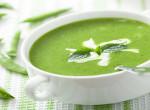 Mentás zöldborsó krémleves - 25 perc alatt kész és nagyon finom