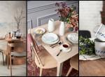 Színek, anyagok, dekoráció - tavaszi trendek az étkezőben